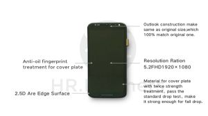 Touch Scrren Mobile Phone LCD for Moto X2 Touch Panel pictures & photos