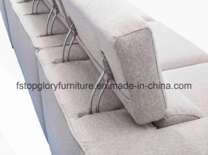 Sectional Simple Modern Fabric Sofa for Living Room (TG-9010) pictures & photos