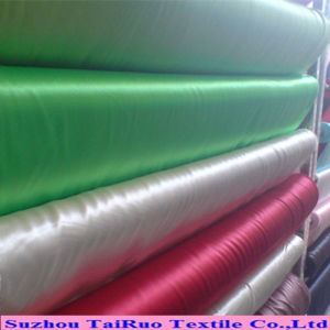 Wholesale 75D*100d Soft Hand Feeling Polyester Satin Lining pictures & photos