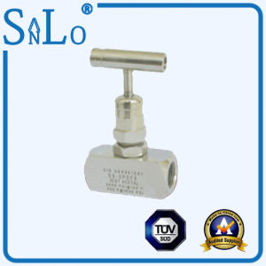 Needle Valve American Standard Rotate Female Pass Needle Valve pictures & photos