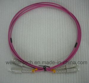 Sc-Sc Multimode Duplex 50/125u Om2 Fiber Optic Patch Cord, 2meter pictures & photos