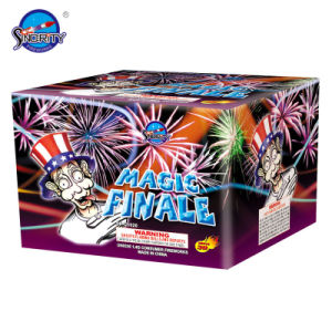 30 Shots Magic Purple Dahlia Cake Pyrotechnics pictures & photos