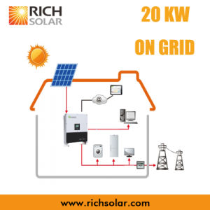 20kw Grid PV Solar Power System with Solar Panel