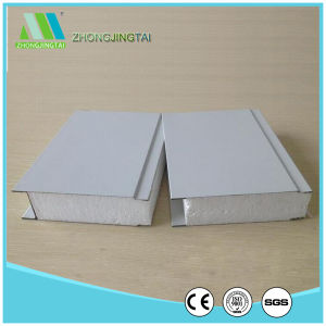 Thermal Insulation and Sound Insulation Color Steel EPS Sandwich Wall Panel pictures & photos