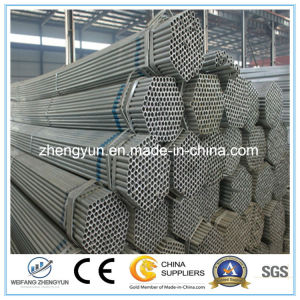 Hot Dipped Galvanized Round Hollow Steel Pipe pictures & photos