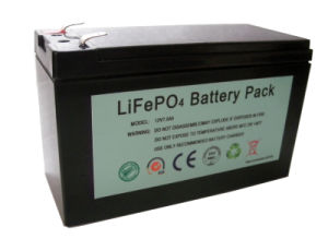 12V7.5ah Li Ion Battery Pack