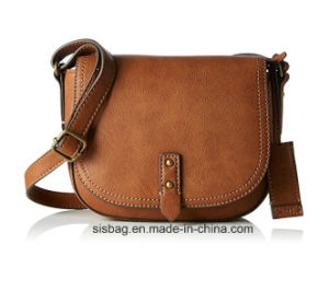 New Fashion PU Leather Crossbody Bag Women Shoulder Bag pictures & photos
