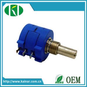 Wxd3590 10-Turn Wirewound Potentiometer 2k 5k 10k with Dial Knob pictures & photos