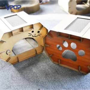 Cardboard Cat Scracher House Cat Bed