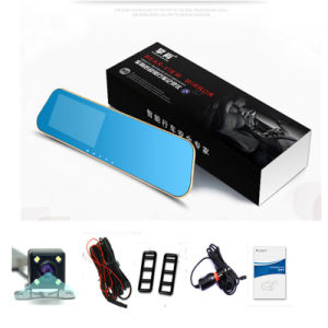 Full HD Rearview Mirror Video Recorder Dash Camcorder Car DVR pictures & photos