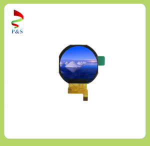 "1.22"" 240 RGB X206 Round Sunlight Readable TFT LCD for Smart Watch pictures & photos"