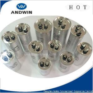 AC Motor Capacitor/Motor Run Capacitor/Aluminum Cover Round Capacitor pictures & photos