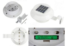 Solar Panel 3-LED Light Sensor Outdoor 1W Lamp SL1-2 pictures & photos