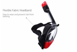 Newest Upgrade Silicone Free Breath Snorkel Tube Full Face Diving Mask with Gopro pictures & photos