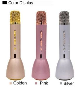 Mini Bluetooth Microphone Wireless Handheld Speaker pictures & photos