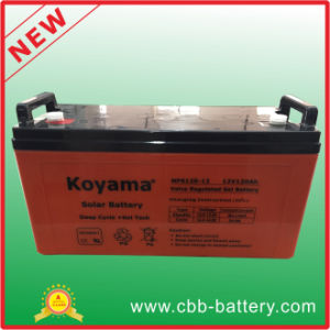 Battery Solar off Grid System for House Use, Solar Panel and Solar Battery Nps120-12 pictures & photos