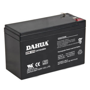 12V 7ah VRLA Sealed Lead Acid Maintenance Free UPS Battery pictures & photos