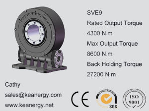 ISO9001/CE/SGS Slewing Drive for Solar PV System pictures & photos