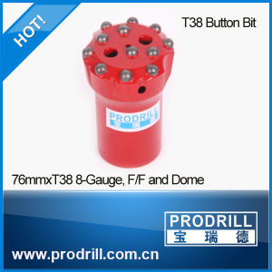 T38 T45 T51 Top Hammer Bench Threaded Drilling Bits pictures & photos