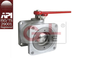 Aluminum Four Way Float Ball Valve pictures & photos