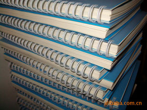 Nylon Twin Ring Loose-Leaf Binding Wire pictures & photos