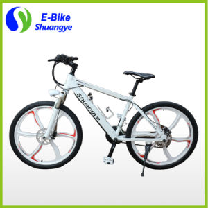 Magnesium Alloy Wheels Shuangye A6 Electric Mountain Bike pictures & photos