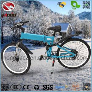 Alloy Frame with Suspension E Bike Electric Mountain Scooter with Disk Brake pictures & photos