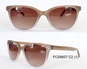 Premium Stylish Handcraft Acetate Sunglasses pictures & photos