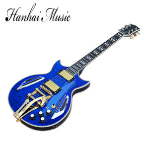 Hanhai Music / Yellow Jazz Electric Guitar (ES-335) pictures & photos