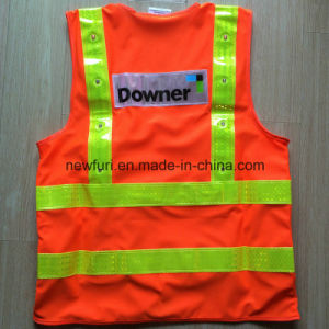 High Quality Best Selling Orange Reflective Vest (accept customized) pictures & photos
