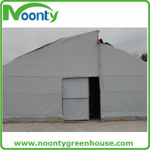 Mushroom Greenhouse with Black System and Shade Net System pictures & photos