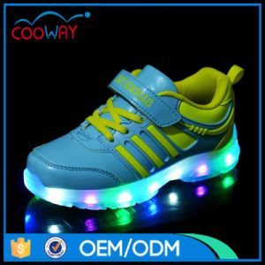 Lace up Footwear Men LED Shoes Comfort Leisure Shoes