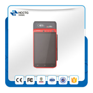 Handheld 5.5 Inch TFT Colorful Touch Screen Fingerprint POS Terminal (Z100) pictures & photos