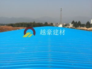 Sound Absorption--PVC Roof Sheet Small Wave Design pictures & photos