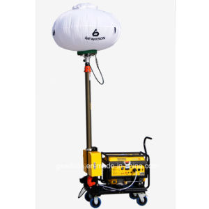 Pneumatic Mast Air Cooled Gasoline Balloon Light Tower for Outdoor Emergency Lighting pictures & photos