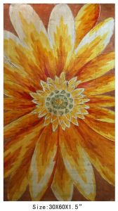 100% Handpainted Sunflower Canvas Art for Home Decoration (Item 705278) pictures & photos