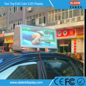 Taxi Top Full Color HD P5 LED Sign for Moving Car pictures & photos
