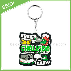 Promotional Gifts Custom Rubber Keychain / Plastic PVC Keychain Wholesale pictures & photos
