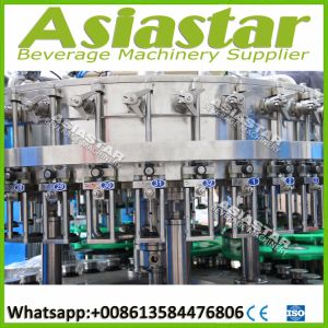 Ce ISO Automatic Glass Bottle Beer Washing Filling Machine System pictures & photos