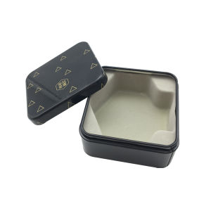 Square Tin Box Chocolarte Packaging Box Promotion Mini Size pictures & photos