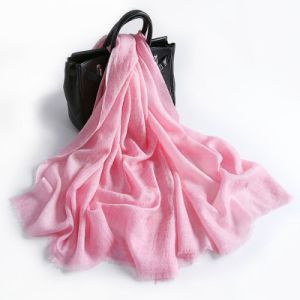 Retro Wool Scarf Pink for Women pictures & photos