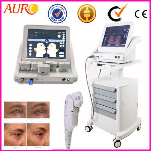 High Intensity Focused Ultrasound Hifu Face Lifting Machine for Salon pictures & photos