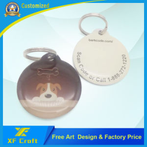Supply Enael/Laser Engraving Name/Pet/ID Dog Tag Manufacture (XF-DT16) pictures & photos