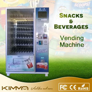 10 Inch LCD Screen Combo Vending Machine for Cigarette and Water Bottle pictures & photos