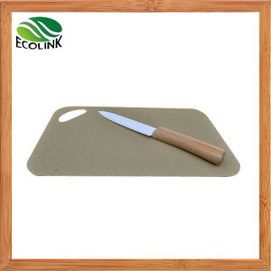 Bamboo Fiber Cutting Board Chopping Board pictures & photos