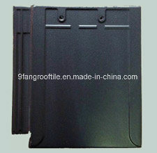 310*340mm Clay Flat Roof Tile Building material Factory Supplier Made in China pictures & photos