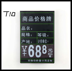 Supermarket Price Display Black Board/Price Advertising Black Board