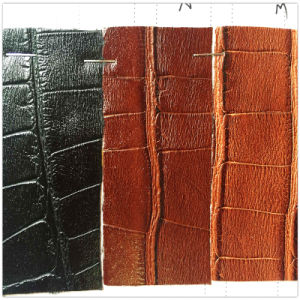 Crocodile Handbag Making PVC Leather pictures & photos