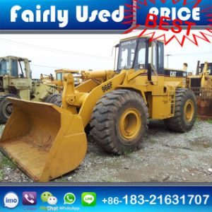 Low Price Used Cat 966f Front Loader with Wood Grab