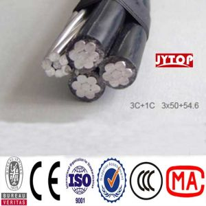 Duplex Service Drop Overhead Cable for ACSR Conductor with XLPE Insulated pictures & photos